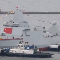 Chinese Type 055 destroyer expected to be named 'Taipei'