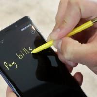 三星發表Galaxy Note 9  智慧手機硬體再玩不出新花樣?