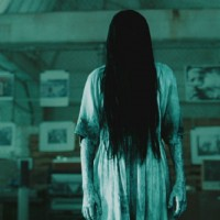 "Still showing Samara from Film ""Rings."""