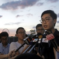 Hong Kong pro-independence supporter Andy Chan auspiciously gives speech despite Beijing's objection