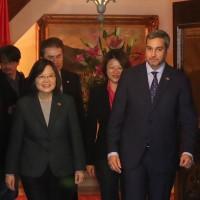 蔡英文會巴拉圭新總統 阿布鐸10月訪臺參加國慶