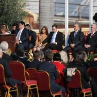 蔡英文出席阿布鐸就職典禮 與6國元首同台