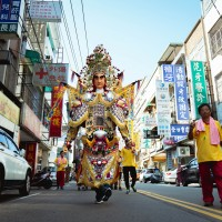 Jubilant procession wraps up century-old temple fair in Daxi, northern Taiwan