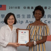 Success of Belize students in Taiwan represents prosperous bilateral relations: President Tsai