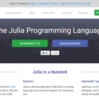 大數據程式語言Julia 1.0正式上線!你該去學嗎?
