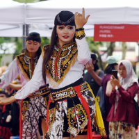 Indonesians in Taiwan celebrate their Independence Day in Taipei