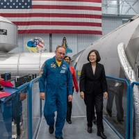 The right stuff: Tsai first Taiwanese president to visit NASA