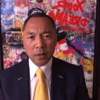 郭文貴再評論台灣政治 柯文哲、馬英九遭點名