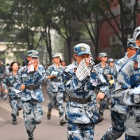 HK, Macau freshmen forced into military training at China's Tsinghua University, Taiwanese 'voluntary'