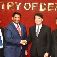 日本起身對抗一帶一路 防衛大臣今日將視察斯里蘭卡港口
