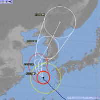 蘇力颱風將直搗首爾 帶來狂風豪雨