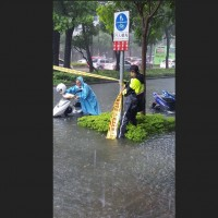 Work, classes, THSRsuspended in southern Taiwan as heavy rains poundisland
