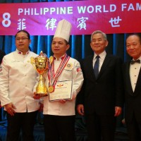 Taiwanese chef shines at 2018 Philippine World Famous Chefs Competition