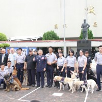 Taiwan to expand police dog training