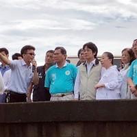 賴清德向中南部水患災民致歉 籲藍綠投入救災停止攻擊