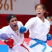 Taiwan's Wen Tzu-yun wins karate gold at Asian Games