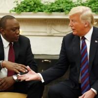 制衡中國擴張在非洲影響力!川普見肯亞總統強調兩國友好