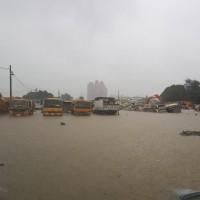 暴雨炸高雄 氣象局發九縣市豪大雨特報