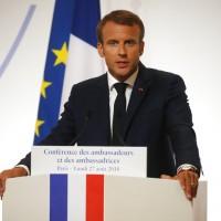 馬克洪:歐洲不能再仰賴美國保護歐洲安全