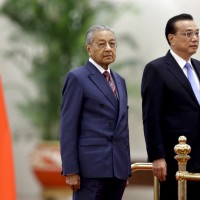 Malaysia PM says 'great wall of China in Kuantan' must come down