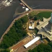 紐約自由女神像傳火警 疏散3400遊客