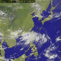 Typhoon Jebi formed over Pacific islands unlikely to hit Taiwan