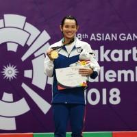 Asian Games- Taiwanese shuttler Tai Tzu-ying clinches badminton women's singles gold medal