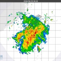 Extremely heavy rain warning in affect for southern Taiwan
