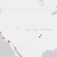 加州南部發生芮氏規模4.4地震