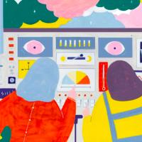 視覺動物大滿足!「眼球先決」新生代插畫家齊聚台北濕地開展