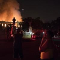 巴西里約大火 無情吞噬200年歷史博物館