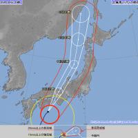 燕子颱風持續北上 大阪京都注意每小時80毫米大雨