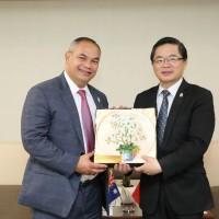 新南向能源經驗交流 澳市長率團參訪台南