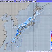 鋒面滯留本州上空 大阪小心大雷雨土石流