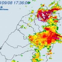 【快訊】北北基與桃園傍晚出現大雷雨 其他各地請注意防範豪雨