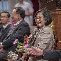 蔡英文:中小企業是臺灣經濟命脈 政府努力解決企業問題