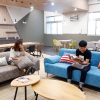 University unveils 'five star' dormitory in northern Taiwan