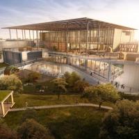 會呼吸的建築!國家圖書館落腳台南 保留90%樹木結合太陽能