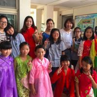 新住民媽媽家長會長 力促國小多元文化館成立