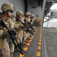 傳美國防部因資源有限 拒派陸戰隊駐守AIT