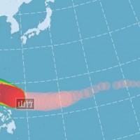 山竹颱風變胖又強 氣象局發布海上警報