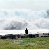 台東蘭嶼出現10級陣風 下午停班停課