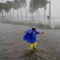 山竹颱風重創菲律賓北部(圖/美聯社)