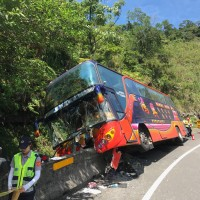 Bus crash injures 29 in northern Taiwan