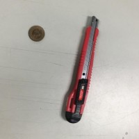 Box cutter used in attack.