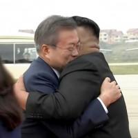 南韓總統文在寅飛抵平壤 展開三度「文金會」