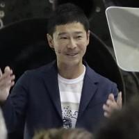 SpaceX月球之旅 日本富商將與藝術家奔月締歷史