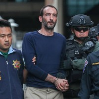 Suspect Oren Mayer denies he murdered a Canadian teacher.