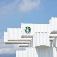 Container Starbucks cafe in Taiwan's Hualien County to open Sep 26