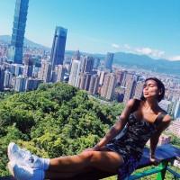 British pop star Dua Lipa climbs Elephant Mountain ahead of Taipei concert